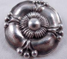 Georg Jensen Sterling Silver 186 Bloom Brooch