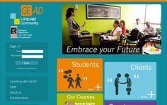 Nombre del proyecto: Diseño y desarrollo de sitio web del Instituto de Idiomas GEAD  Estado a la fecha: Implementado y Funcionando.  Descripción del proyecto: Diseño y desarrollo de un sitio web con administrador de contenidos. Área privada para alumnos, profesores y clientes, con contenidos específicos para cada uno de los perfiles.