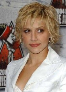 The best short hairstyles for light hair - Brittany Murphy