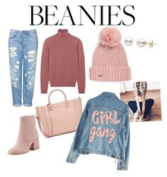 """Beanies💗"" by jimyam ❤ liked on Polyvore featuring Calvin Klein, Bottega Veneta, Topshop, Sam Edelman and High Heels Suicide"
