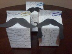 mustache party favor milk carton treat boxes