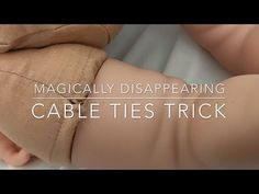 How to Hide the Cable Ties on Your Reborn Doll - YouTube