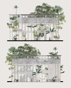 Pin by 李 麂 皮 on drawing architecture collage, architecture graphics, archit Plan Concept Architecture, Collage Architecture, Landscape Architecture Drawing, Landscape Design Plans, Architecture Graphics, Architecture Visualization, House Landscape, Architecture Diagrams, Collage Landscape