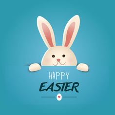 Buona Pasqua con coniglietto