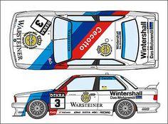 Studio 27 - BMW M3 Sport Evo (E30) decals from Grand Prix Models