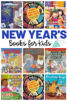 A new year feels like a fresh start. It's the perfect time to look back on the past year and make new goals and resolutions for the year ahead. One way to get students excited about the new year is through books. Here are a handful of New Year's books for kids that show how people around the world ring in the new year!