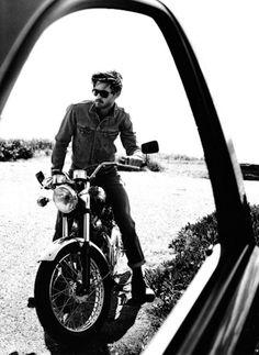 Denim jeans boots fashion men tumblr jacket sunglasses bike