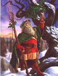 The Goddess and the Green Man | Yule
