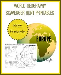 FREE Maps  free printable maps of world continents australia