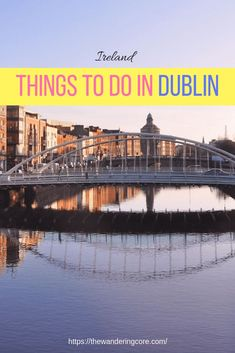 Dublin is a beautiful city in Europe. Here I'll not focus on known attractions & rather present some of the unusual things to do in Dublin. Europe Destinations, Cities In Europe, Europe Travel Tips, European Travel, Uk Europe, Travel Guides, Travel Uk, Family Travel, Dublin Travel