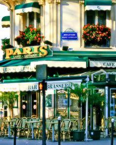 Paris Saint Germain - Parisian Cafe Photography by Vita Nostra