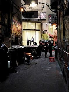 Melbourne laneway Melbourne Laneways, Central Business District, Social Housing, Melbourne Victoria, Alleyway, My Town, Arcade, New York City, The Neighbourhood