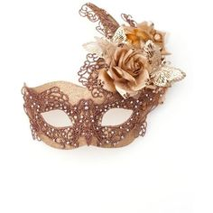 Luxury Gold & Bronze Lace Venetian Masquerade Mask with Gold Filigree Butterflies, flowers & Swarovski Crystals. Masked Ball Mask, New Year Mask, Christmas Mascarade Mask, Masquerade Ball Party, Venetian Masquerade Masks, Masquerade Costumes, Maskerade Outfit, Bronze, Beautiful Mask, Masks Art, Mardi Gras