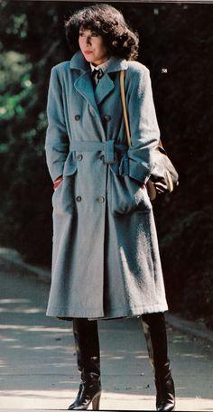 Seventies Outfits, Seventies Fashion, 70s Fashion, Winter Fashion, Vintage Fashion, Womens Fashion, Decades Fashion, Work Suits, Vintage Winter