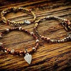 Bling Bling! bracelets by Q. Miller Handmade Jewelry. American Made. See the designer's work at the 2016 American Made Show, Washington DC. January 15-17, 2016. americanmadeshow.com #americanmadeshow, #americanmade, #jewelry, #bracelet
