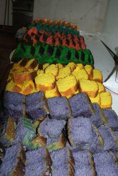 Chiro Kreale kleurde de startdag met cake en drinken in afdelingskleuren!
