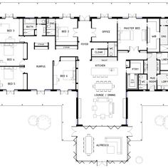 TOP BEAST Metal Building: Barndominium Floor Plans and Design Ideas for YOU! I just discovered barndominium floor plans / metal buildings that i think … best for :) 6 Bedroom House Plans, Dream House Plans, House Floor Plans, Modular Floor Plans, The Plan, How To Plan, Metal Building Homes, Building A House, Building Design