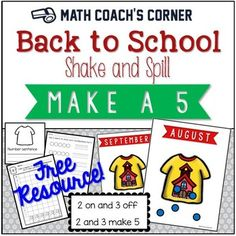 Both the CCSS and TEKS have standards for composing and decomposing numbers to 10. Your Kinder and 1st grade students should be practicing these skills all year long!  This is a foundational skill, and you'll want to stock your classroom with a variety of activities for learning number combination to keep the students engaged.Shake and Spill is a great little game for providing concrete practice with composing and decomposing numbers, and the holiday themed boards in the package are sure to…