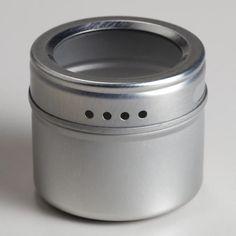 For Magnetic Spice rack - Magnetic Storage Tins, Set of 5 Magnetic Spice Jars, Magnetic Storage, Spice Storage Containers, Spice Tins, Spice Racks, Innovation, Affordable Storage, World Market, Sculpture