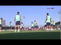FOOTBALL -  FC Barcelona - Entrenamiento 24/08/2013 - http://lefootball.fr/fc-barcelona-entrenamiento-24082013/