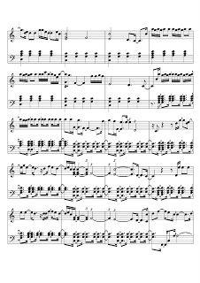 Brenda Bondezan: Partitura de piano November Rain- Guns N' Roses