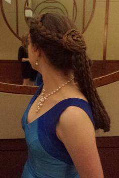 Lunnafindel: version of an Empress Sissi hairstyle Empress Sissi, Braided Hairstyles, Hair Care, Braids, Dreadlocks, Hair Styles, Beautiful, Beauty, Hair Beauty