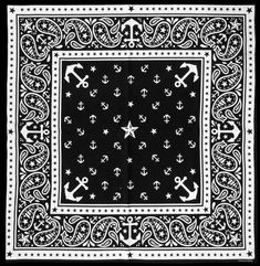 Discover Inked Shop's selection of new alternative clothing and accessories today. Cowboy Bandana, Bandana Scarf, Bandana Print, Paisley Stencil, Paisley Pattern, Pocket Squares, Rockabilly, Anchor Scarf, Tupac Pictures