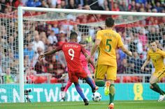 England 2 Australia 1: Marcus Rashford's  goal made him the youngest player to score during an England debut as his early volley opened the scoring. Marcus Rashford, International Football, Manchester United, European Championships, Scores, Goal, Man United