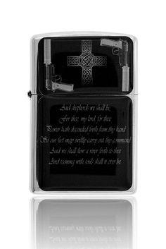 Boondocks Saints Prayer Chrome Mirror Finish Wind Proof Oil Lighter (6) @ niftywarehouse.com #NiftyWarehouse #BoondockSaints #NormanReedus #Film #Movies #CultMovies #CultFilms