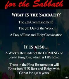 #Sabbath What is the Sabbath? http://www.sdahymnal.net/