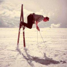 The Retro Skier