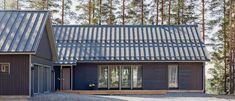 Lato from Kannustalo. Modern Barn House, Pole Barn Homes, Garden Studio, Construction, Home Goods, New Homes, House Design, Places, Outdoor Decor