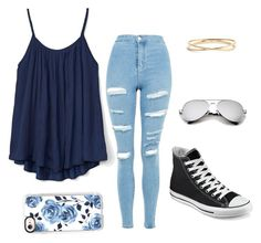 Untitled #1 by t-t-g on Polyvore featuring polyvore, fashion, style, Gap, Topshop, Converse, Nadri, Casetify and clothing