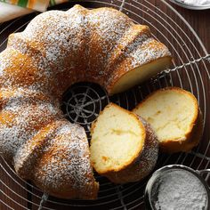 Pear Bundt Cake Recipe -Next time you make cake from a mix, you should try my easy and delicious recipe. The finely chopped pears and syrup add sweet flavor and prevent the cake from drying out. And since there's no oil added to the batter, this tender fall-perfect cake is surprisingly low in fat. —Veronica Ross, Columbia Heights, Minnesota