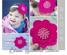 Great pattern for making these adorable headbands! Only $3.