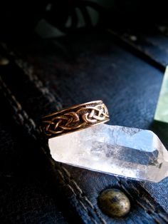 Copper Celtic Ring by EireCrescent on Etsy, $24.99