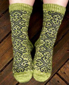 Ravelry: Valtiatar pattern by Tiina Kuu Fair Isle Knitting, Loom Knitting, Knitting Socks, Knitting Patterns, Crochet Socks, Knit Crochet, Knit Socks, Cool Socks, Awesome Socks