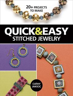 Basic stitching, beautiful jewelry. $21.99