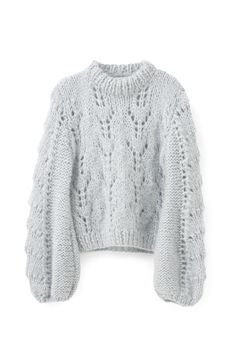 Mode Sportif is the ultimate online destination for deconstructed luxury. Defining contemporary dressing, Mode Sportif delivers a curated edit of relaxed fashion and elevated sportswear. Handgestrickte Pullover, Hand Knitted Sweaters, Oversized Sweaters, Oversized Tops, Winter Sweaters, Cardigans For Women, Pulls, Knitwear, Winter Outfits