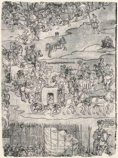 Artist: Breu, Jörg d. Ä., Title: Die Belehnung König Ferdinands mit den österreichischen Erblanden, Detail [12/23], Date: 1530