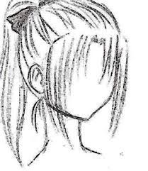 how to draw anime hair step by step for beginners - Google Search
