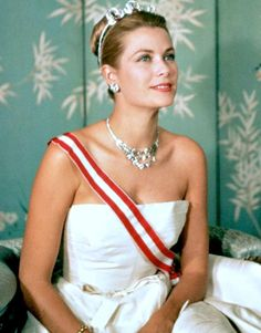 """""""Princess Grace in the 1950s. """""""