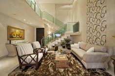 Sala de Estar (De Livia Martins Arquitetura e Interiores)