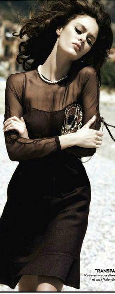 V a l e n t i n o little black dress | Keep The Glamour ♡   ✤ LadyLuxury ✤