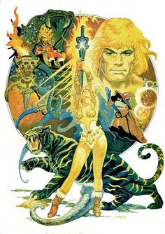 Masters Of The Universe - 24 (painting by Esteban Maroto) by Aeron Alfrey, via Flickr