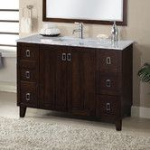 "Found it at AllModern - IN 32 Series 48"" Single Sink Bathroom Vanity Set"