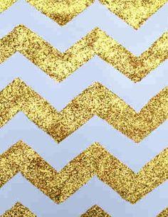Glitter cheveron wallpaper