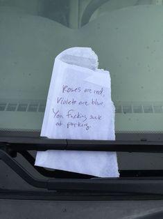 A Parking Poem