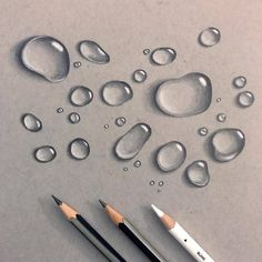 White Art Sharing Page on - art 3d Art Drawing, Cool Art Drawings, Pencil Art Drawings, Realistic Drawings, Art Drawings Sketches, Easy Drawings, Water Drawing, Colored Pencil Artwork, Color Pencil Art