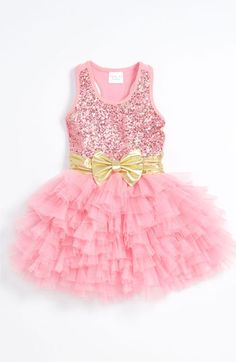 Ooh! La, La! Couture 'Wow Dream' Dress (Little Girls & Big Girls) available at #Nordstrom If only I was willing to spend that much on a little girls dress. Soooo loving this though!